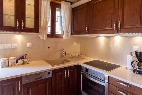 Η κουζίνα ή μικρή κουζίνα στο Δίκτυννα