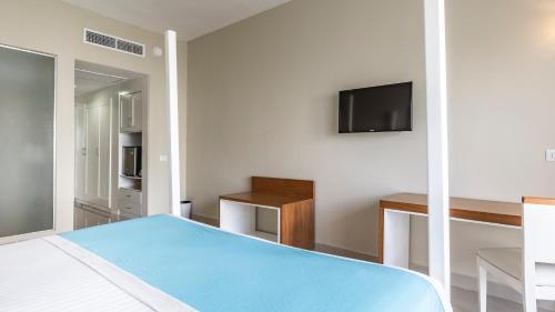 Un ou plusieurs lits dans un hébergement de l'établissement Be Live Collection Canoa - All Inclusive