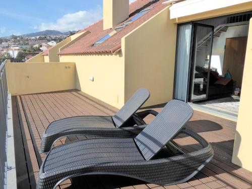 A balcony or terrace at Luxury Apartment Living Funchal