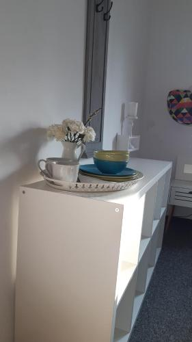 Kuchnia lub aneks kuchenny w obiekcie Master Corner Guest Rooms