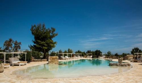 The swimming pool at or close to Masseria Montenapoleone