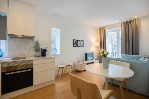 A cozinha ou kitchenette de Oporto Invite Trindade (city center)