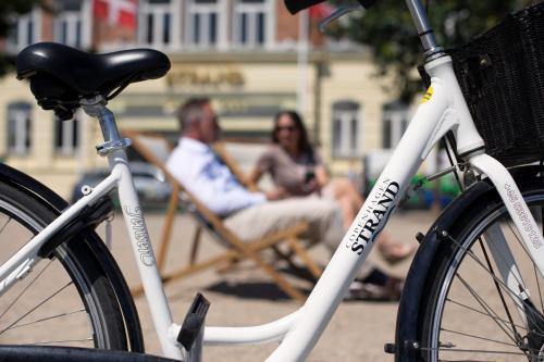 Cykling ved Copenhagen Strand eller i nærheden