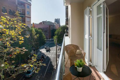 A balcony or terrace at Bbarcelona Apartments Sagrada Familia Flats