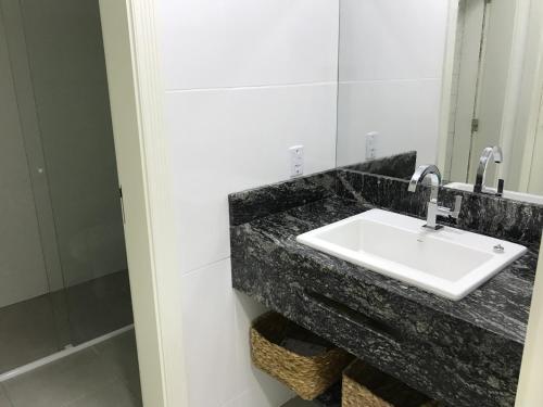 A bathroom at Paraty