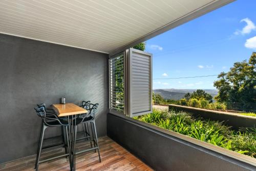 A balcony or terrace at Altitude On Montville