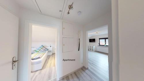 Küche/Küchenzeile in der Unterkunft Apartments Mosbach
