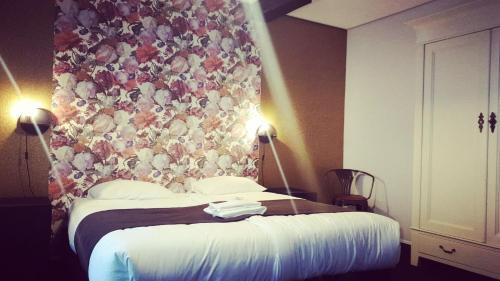Ein Bett oder Betten in einem Zimmer der Unterkunft Hotel Zilt