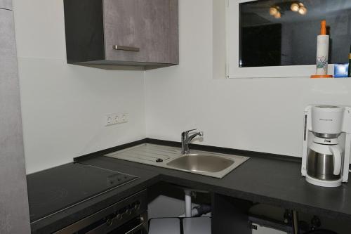 Küche/Küchenzeile in der Unterkunft Apartment in Reutlingen / Sickenhausen