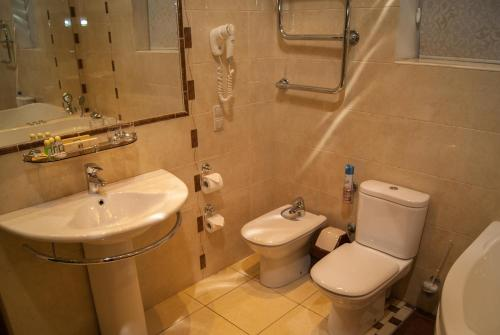 Ванная комната в Частная резиденция Богемия