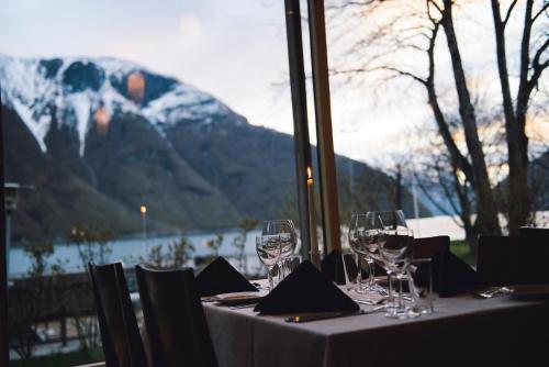 En restaurant eller et spisested på Klingenberg Hotel