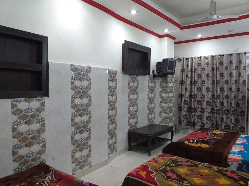 A television and/or entertainment center at Baba Ji Yatri Niwaas