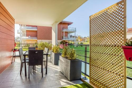 Balcon ou terrasse dans l'établissement Cosy Geneva