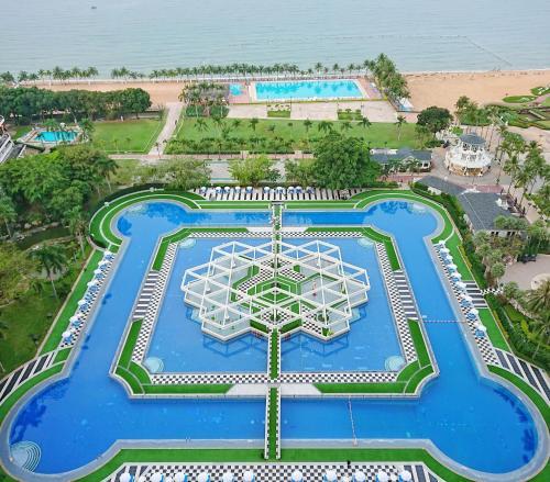 Ambassador City Jomtien Marina Tower Wing с высоты птичьего полета