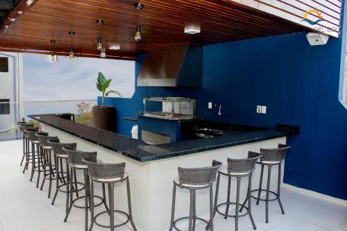 Cuisine ou kitchenette dans l'établissement Hotel Puesta del Sol