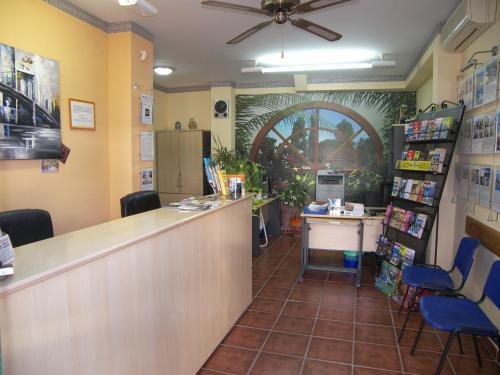 Lobbyn eller receptionsområdet på Nerja Villas-Capistrano