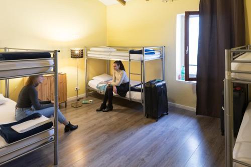 Litera o literas de una habitación en Hostel Vertigo Vieux-Port