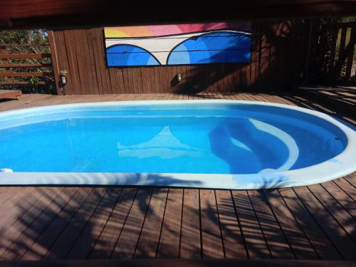 A piscina localizada em Pousada Sonho do Vale ou nos arredores