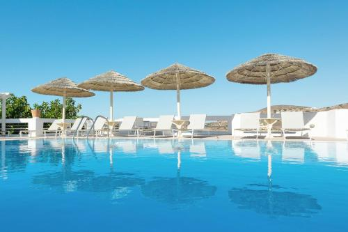 The swimming pool at or near Kritikakis Village Hotel
