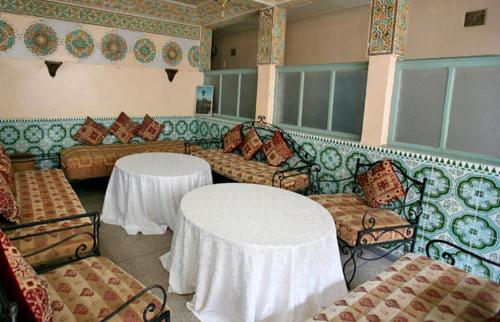 A seating area at Hotel Ali