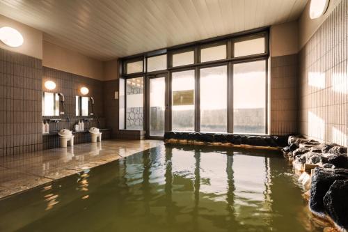 The swimming pool at or near Island Inn Rishiri