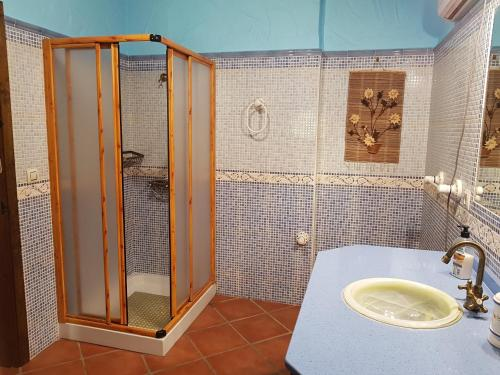 Un baño de Rancho Los Cuñaos