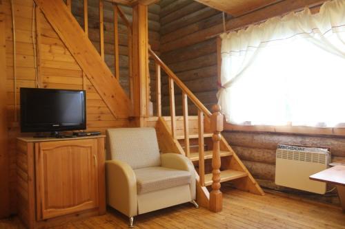 Гостиная зона в Гостевой дом в Киндасово
