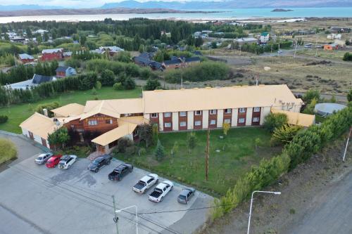 Una vista aérea de Hotel Picos Del Sur