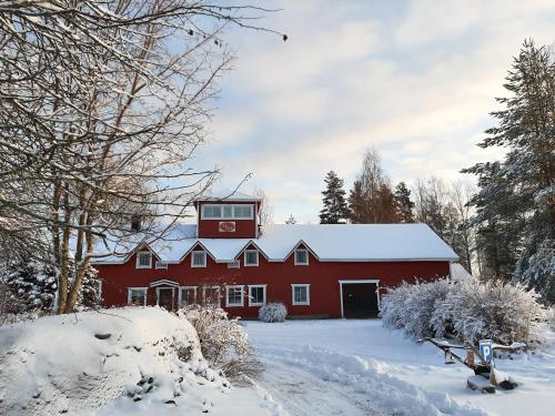 Villa Luotola om vinteren