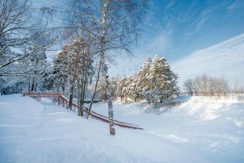 Атлас Парк Отель зимой