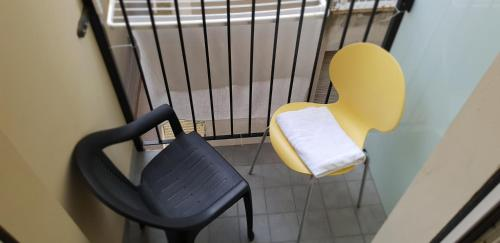 Coin salon dans l'établissement Hotel Romagna
