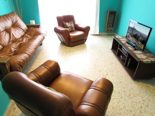Prostor za sedenje u objektu Casa Buena Vista Tandil
