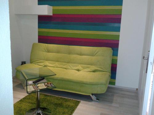 A seating area at Janus Apartman