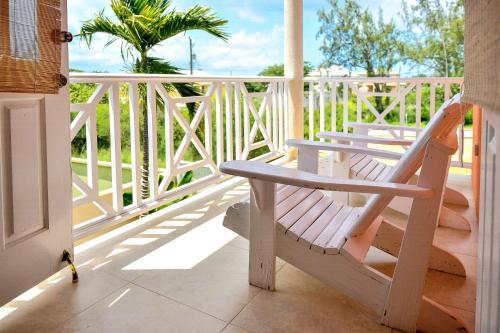 A balcony or terrace at Best E Villas Providence