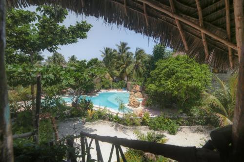 Vue sur la piscine de l'établissement Mustapha' s Place ou sur une piscine à proximité