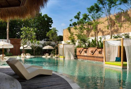 The swimming pool at or near Amnaya Resort Benoa
