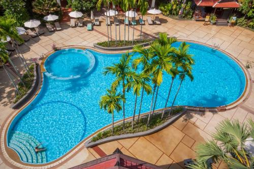 A view of the pool at Borei Angkor Resort & Spa or nearby