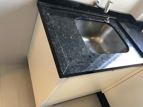 A bathroom at Apartamento 50 mt praia de Balneario Camboriu