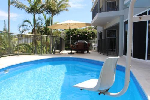 The swimming pool at or near Zaffiro Beach House