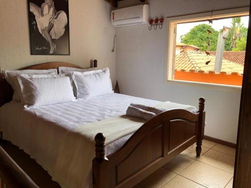 Cama o camas de una habitación en LOFT QUINTA DO ABADE