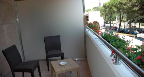 Balkón nebo terasa v ubytování Hotel Villa Doimo