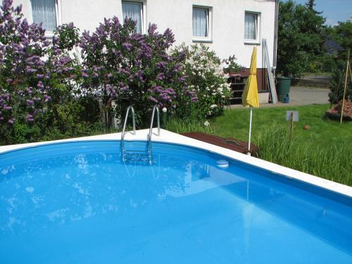 Der Swimmingpool an oder in der Nähe von Hotel-Pension Lydia