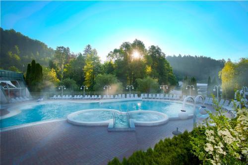 Piscina de la sau aproape de Terme Topolsica - Hotel Vesna