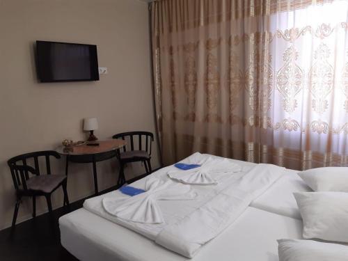 Кровать или кровати в номере Aparthotel Podkova