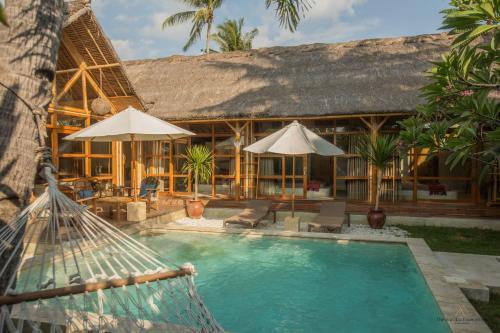 The swimming pool at or near La Villa Bambu