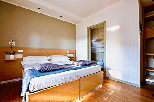 Ein Bett oder Betten in einem Zimmer der Unterkunft Hotel Liane