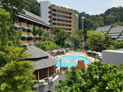 A view of the pool at dusitD2 Ao Nang Krabi or nearby