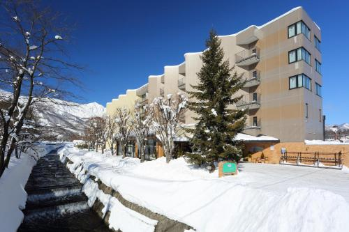 Hotel Hakuba during the winter
