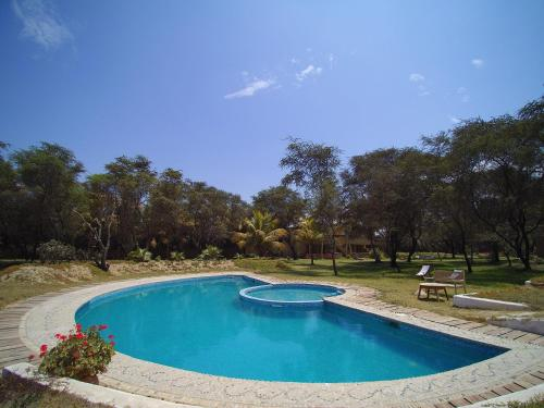 The swimming pool at or near Los Horcones de Tucume