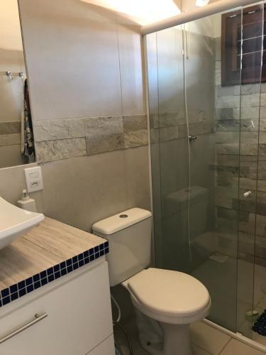 A bathroom at ITALIAN´S HOME ICARAI